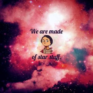 We are made from Stardust