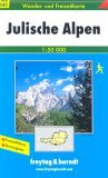 Julian Alps Walking Map