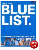Lonely Planet Blue List - Things to do, Places to go