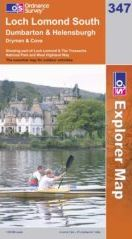 Loch Lomond South OS Explorer Map