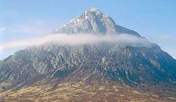 Buchaille Etive Mor in Glencoe in the NW Highlands of Scotland