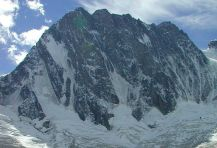 Grandes Jorasses in France