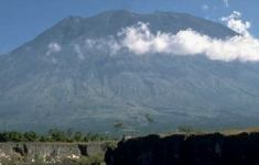 Mount Agung - highest mountain on Bali