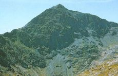 Snowdon - the highest mountain in Wales