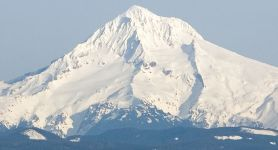 Mount Hood - Highest mountain in Oregon