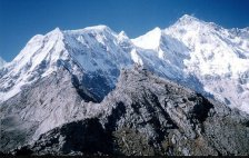 Cho Oyu - the world's sixth highest mountain