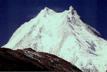 Manaslu - the world's eighth highest mountain